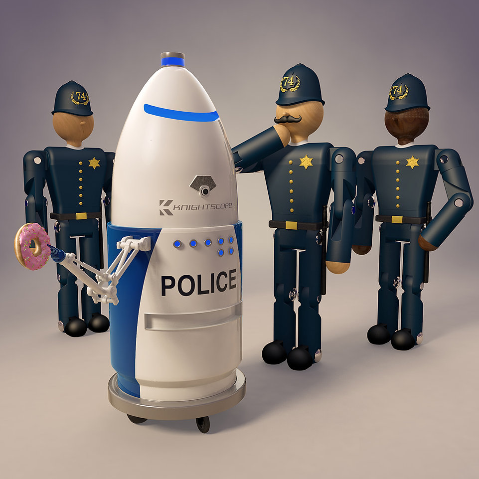 The-New-Robot-Police-Recruit-illustratio