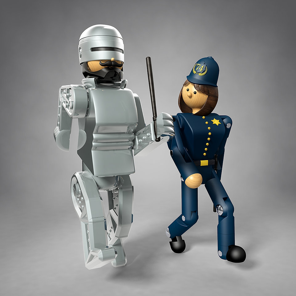 Your-New-Robot-Police-Partner-Illustrati