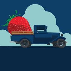 South Carolina Strawberry Festival Poster