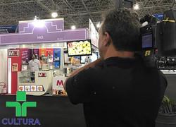 Mais um #mcinamidia! Hoje foi dia da _tvcultura visitar nosso stand na #FeiraDoEmpreendedor! E você,
