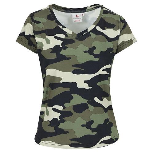 Aanpassend T-shirt dames - Sportfunctioneel