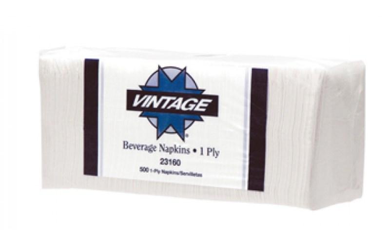 23160 VINTAGE BEverage Napkin