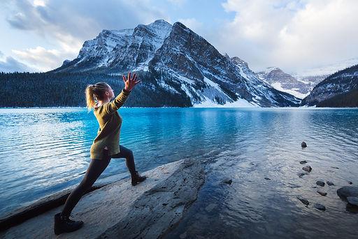 Yoga Retreat in Lake Louise _ Kathy Pars