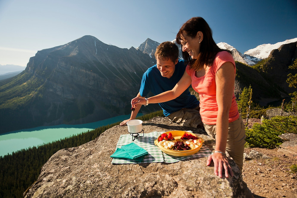 Best Mindful Eating Retreat in Lake Louise, Canadian Rocky Mountains
