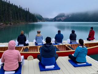 Global Wellness Day & International Yoga Day in Lake Louise