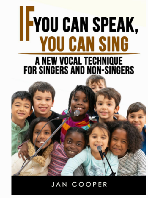 IF YOU CAN SPEAK YOU CAN SING