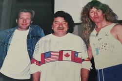 Jon Sykes (Whitesnake) and Bob Rock