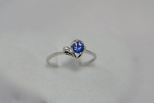 0.35ct ブルーサファイア 指輪 18k