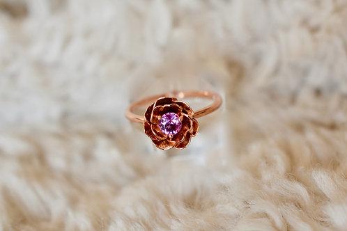 バラの指輪 18k