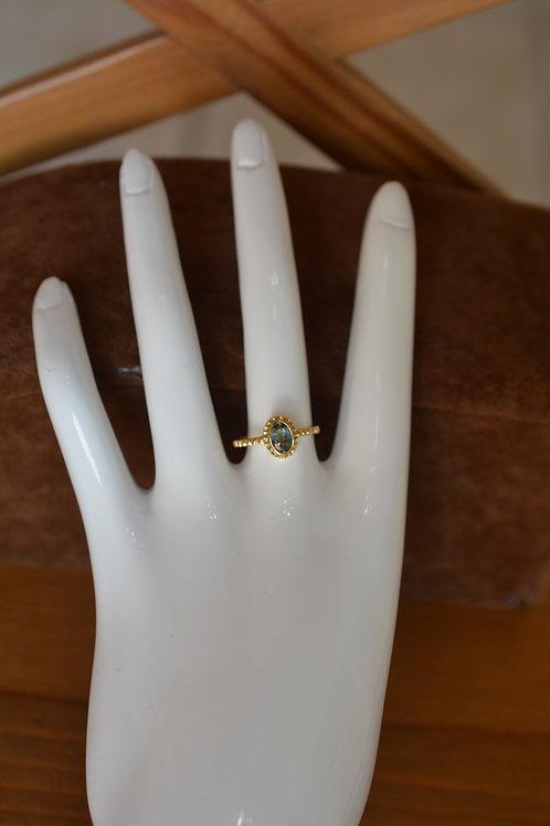 0.7ct アレキサンドライトの指輪 18k