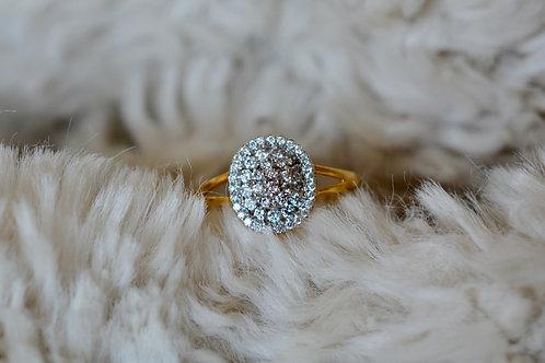 ダイアモンドの指輪