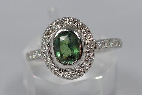0.9ct アレキサンドライト 指輪