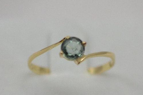 ミントグリーンサファイアの指輪