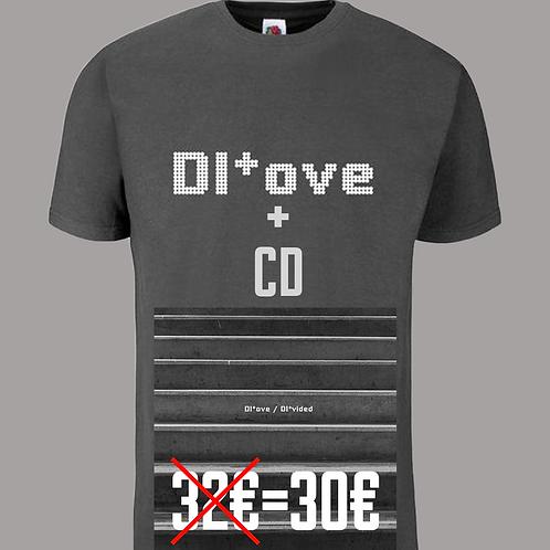CD DI*vided + T-Shirt