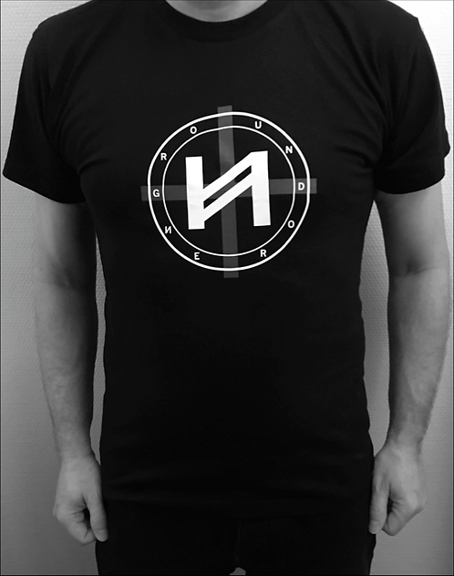 T-Shirt Men Ground Nero