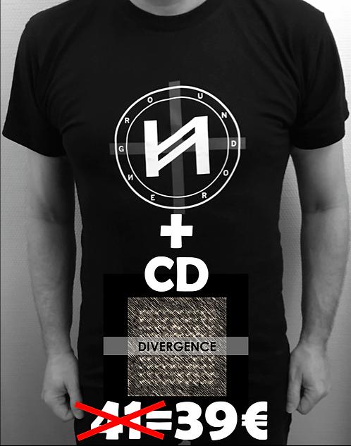 Divergence CD + T-Shirt