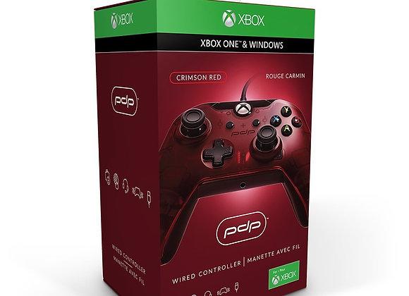 Control Alámbrico para Xbox One (PdP) Rojo