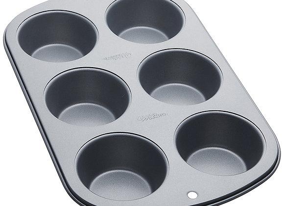 Molde Para 6 CupCakes Estándar Wilton
