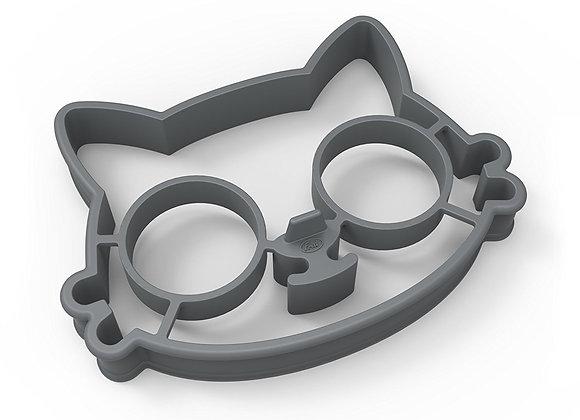 Molde para huevo en forma de gato