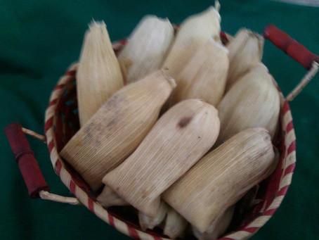 Receta: Tamales de chocolate