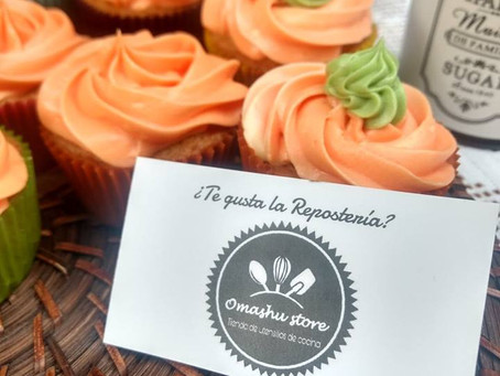Cupcakes de Zanahoria.