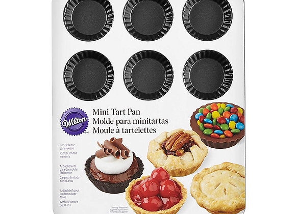 Molde para mini tartas (12 Cavidades)