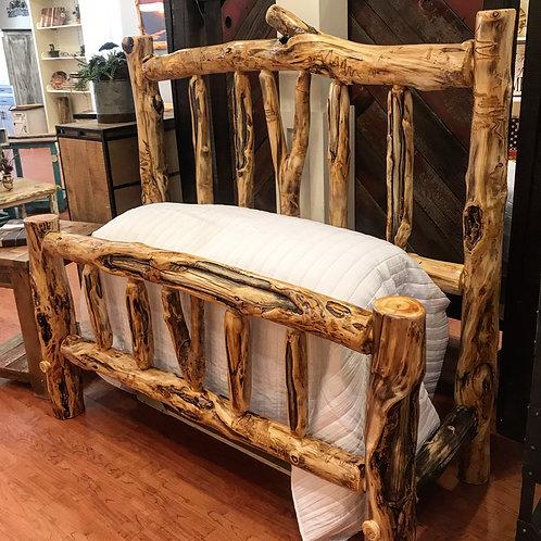 Aspen Log Bed -Queen