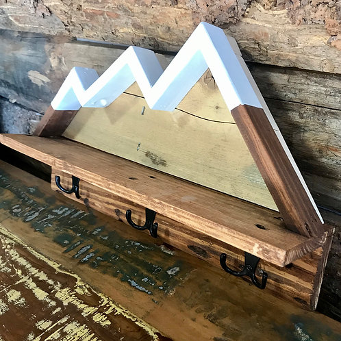 3-Peak Mountain Coat Hangers