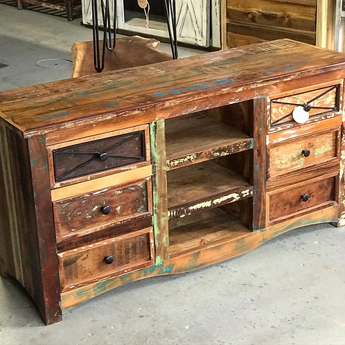 6-Drawer Console Table
