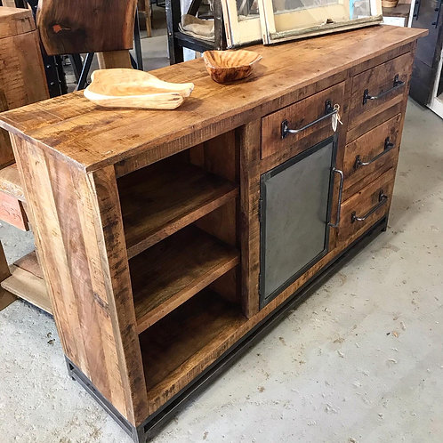 """""""Deconstructed"""" Console Table"""