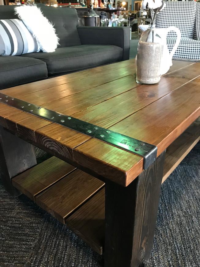 4x6 Iron Maiden Coffee Table