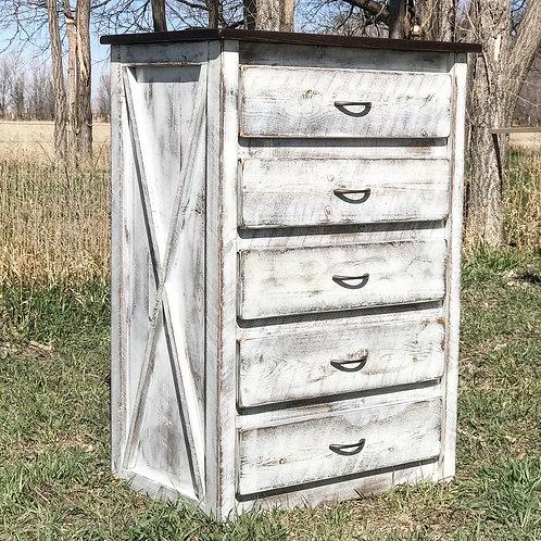 5 Drawer Tallboy Dresser