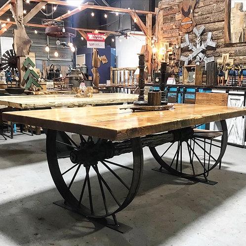 Western Wagon Table