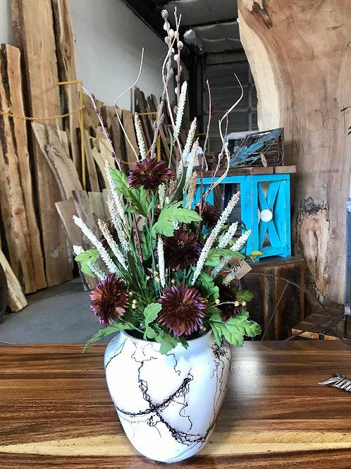 Large Horsehair Vase