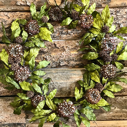 Feather Bloom Wreath