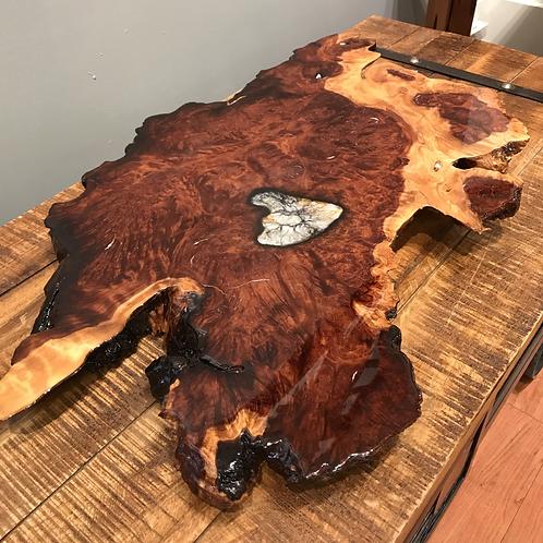 Redwood Burl Centerpiece