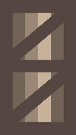 Framed Double Z