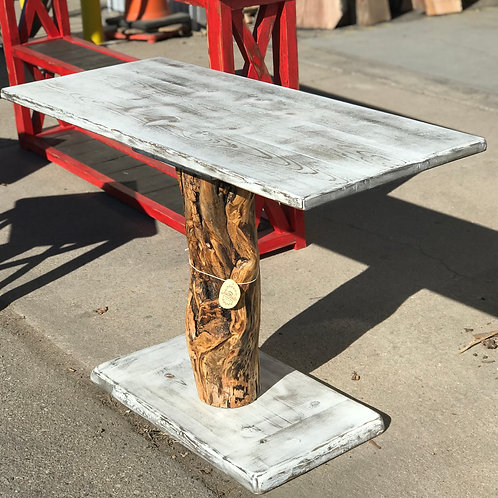 Aspen Log Accent Table