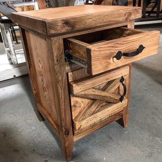 mini hutch end table