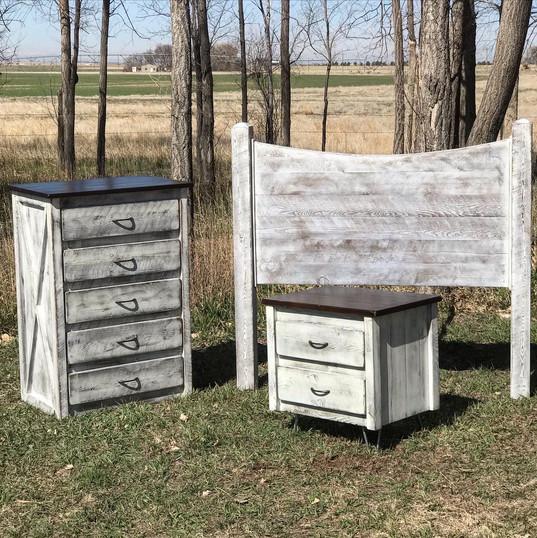 White Farmhouse Set