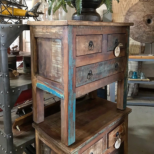 3-Drawer End Table