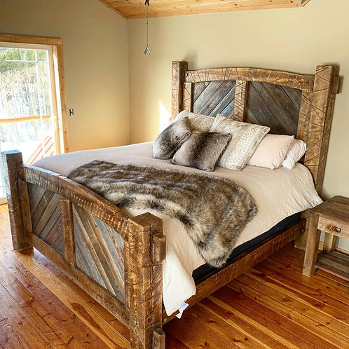 Outlaw Bed Frame - King