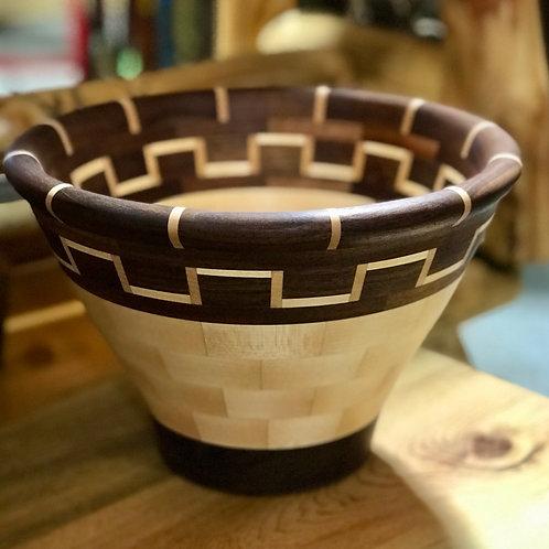 Walnut + Maple Bowl