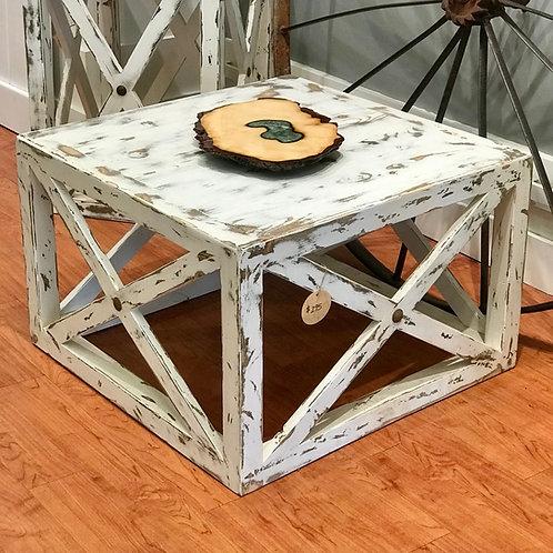 Farmhouse Cube Tables