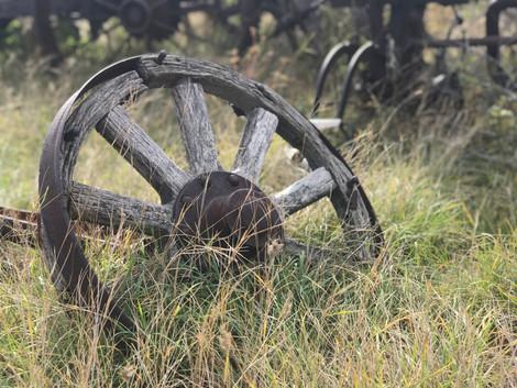 vintage wagon wheels