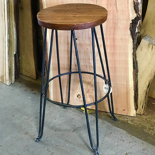 Flat Top Hairpin Leg Stool