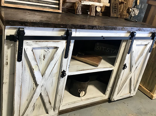 X-Door Farmhouse Console Table