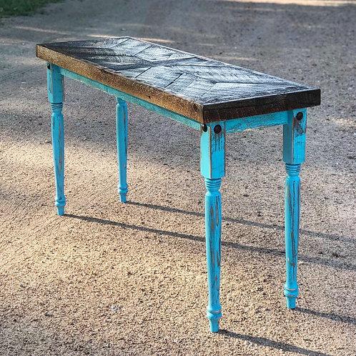 Spindle Leg Hallway Table