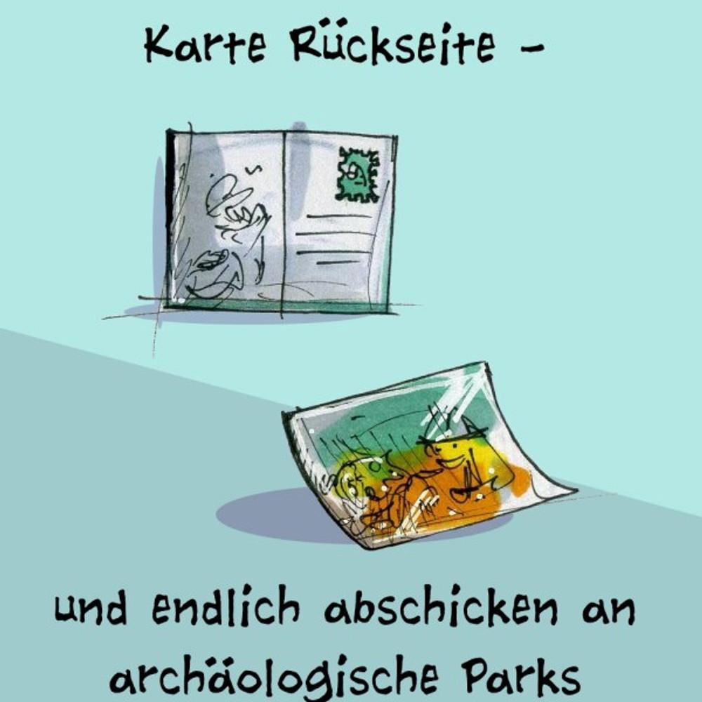 Illustrator Postkartenaktion