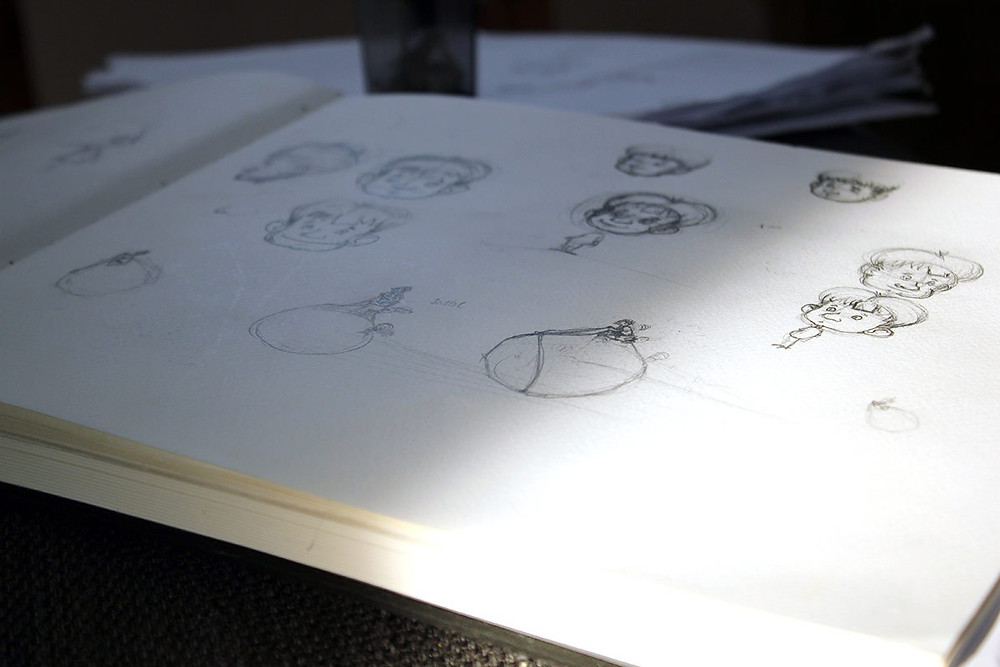 Kinderbuch Charakterstudie